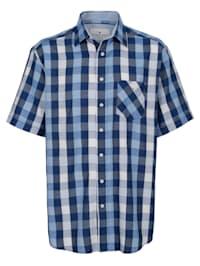 Skjorta i lättskött material