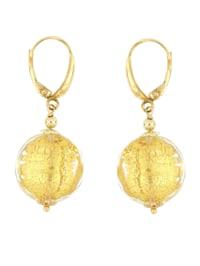 Boucles d'oreilles en verre de Murano
