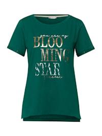T-Shirt mit Schrift-Print