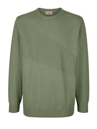 Pullover mit Strickmusterung