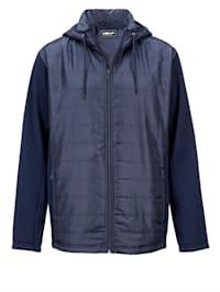 Hybrid-Jacke Spezialschnitt