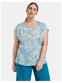 Blusenshirt aus Organic Cotton