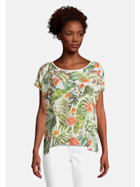 Casual-Shirt mit Muster