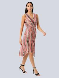 Kleid aus plissierter Ware