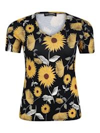 T-Shirt mit Allover-Print .