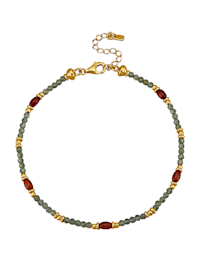 Armband met gekleurde stenen