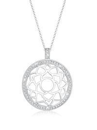Halskette Chakra Ristalle 925 Sterling Silber