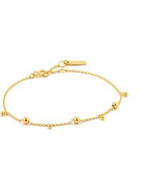 Ania Haie Damen-Armband Modern drop Balls 925er Silber