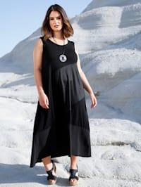 Kleid in Patchwork-Optik
