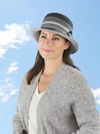 Chapeau en laine pliable