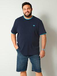 T-Shirt mit modischer Struktur