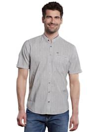 Kurzarm-Hemd-gestreift