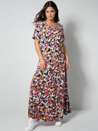 Jersey-Kleid in A-Shape