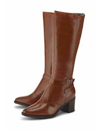 Klassische Stiefel Leder-Stiefel