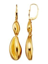 Boucles d'oreilles En argent 925, doré