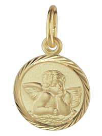 Schutzengel Anhänger Gold 585