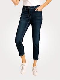 Jeans med avsmalnende ben