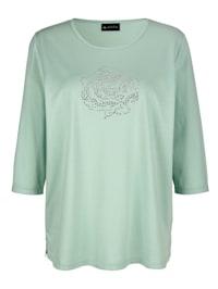 T-shirt à motif rose