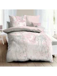 Mako-Satin Bettwäsche Carrara rose