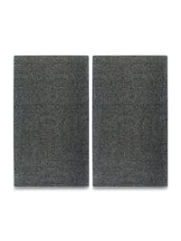 Herdabdeckplatten Set Schneideplatten