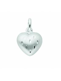Damen Silberschmuck 925 Silber Anhänger Herz