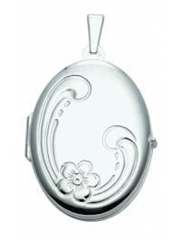 1001 Diamonds Damen Silberschmuck 925 Silber Medaillon Anhänger