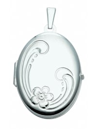 Damen Silberschmuck 925 Silber Medaillon Anhänger
