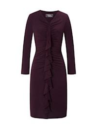 Kleid NIDALMA im Farbton Aubergine