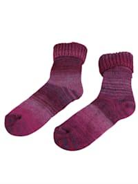 Wollen sokken in Scandinavische stijl
