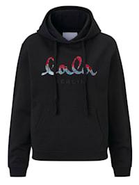 Sweatshirt mit Pailletten, Jubiläumskollektion