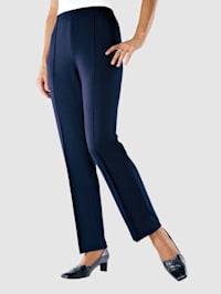 Jersey nohavice postavutvarujúce šitie na zámiky