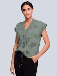 Pullover im exklusiven Alba Moda Print