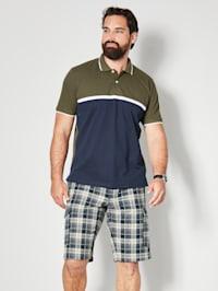 Poloshirt color Blocking Design