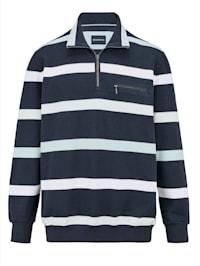 Sweatshirt van aangename stof