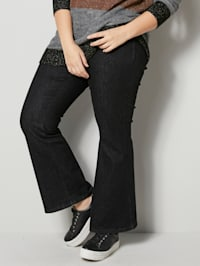 Jeans i bootcut-modell