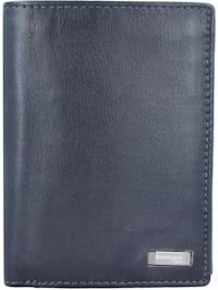 Black Nappa Geldbörse RFID 9,5 cm