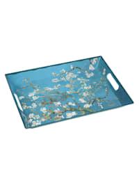 Tablett Vincent van Gogh - Mandelbaum blau