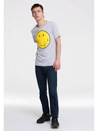 T-Shirt Smiley mit tollem Frontprint