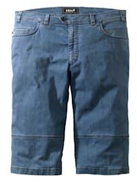 Bermuda en jean Straight Fit