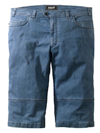 Shorts i jeansmaterial