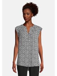 Blusenshirt mit Muster Muster