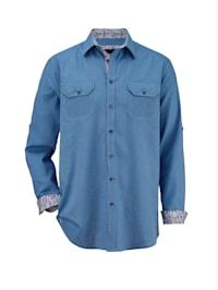 Skjorte i luftig materiale