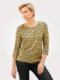 Shirt van een viscosemix
