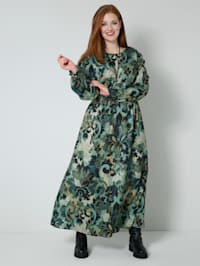 Robe Taille extensible smockée