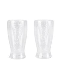 Glas-Set, 2-tlg., Flosse