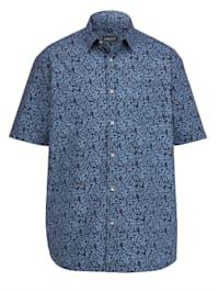 Kortärmad skjorta med specialskärning