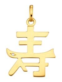 Hänge med kinesiskt tecken