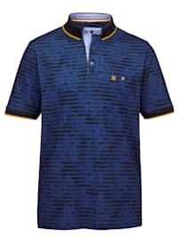 Poloshirt mit modischen Kontrastdetails