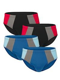 Sportslips im 4er-Pack in verschiedenen Farbkombinationen
