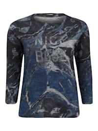 Sweatshirt NICE BLUE